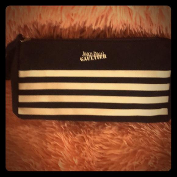 jeanstar Handbags - Jean Paul Gaultier cosmetic case wristlet